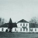Dawny dwór w Bronowicach – fotografia z archiwum Pana Mikołaja Spóza